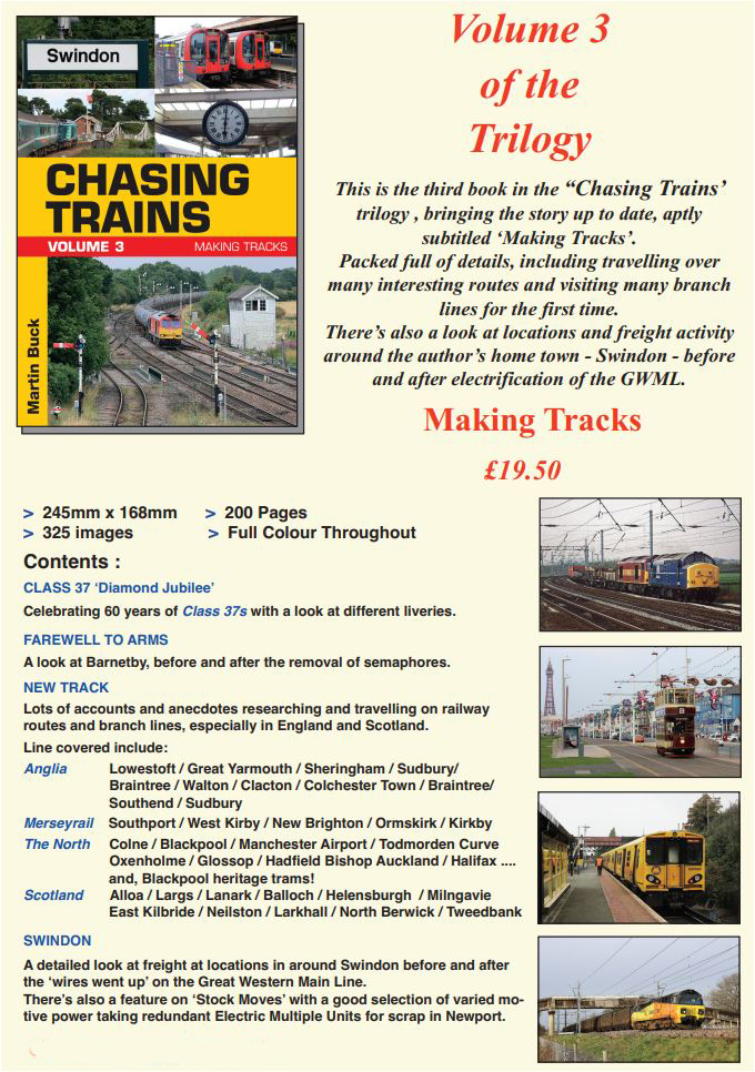 Chasing Trains - Vol 3